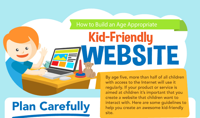 How To Build an Age Appropriate Kid-Friendly Website