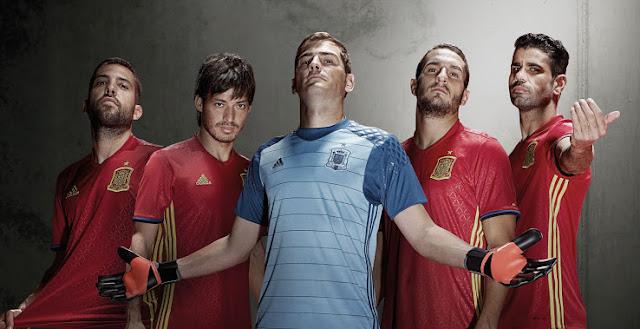 Jersey Spanyol EURO 2016