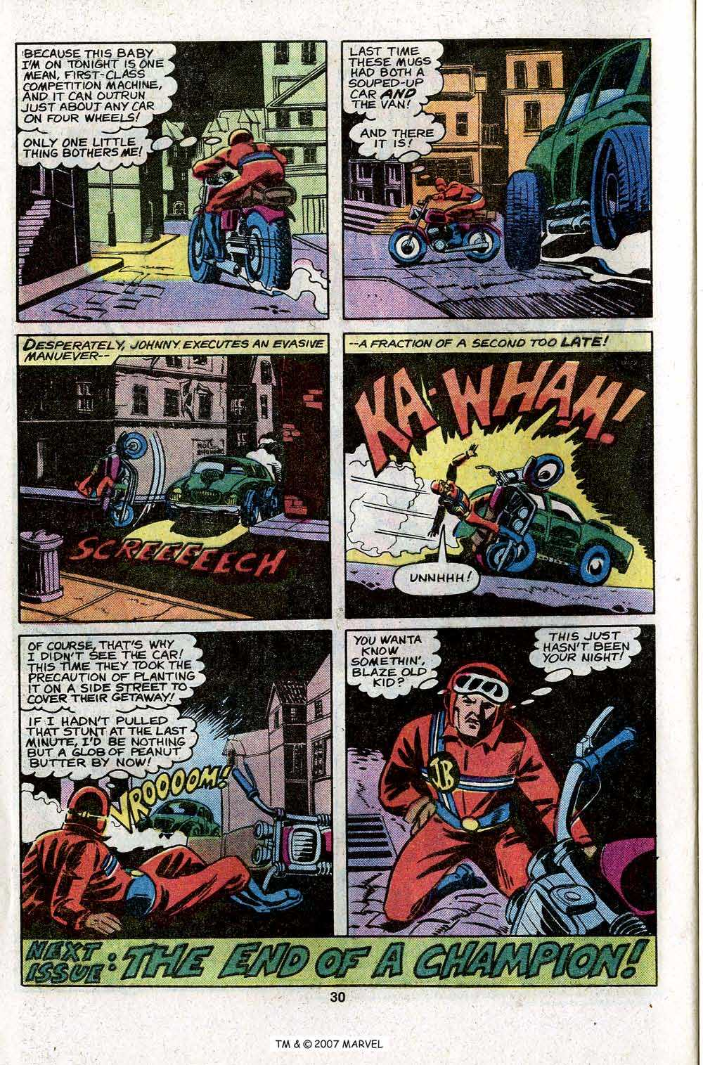 Ghost Rider (1973) Issue #45 #45 - English 32