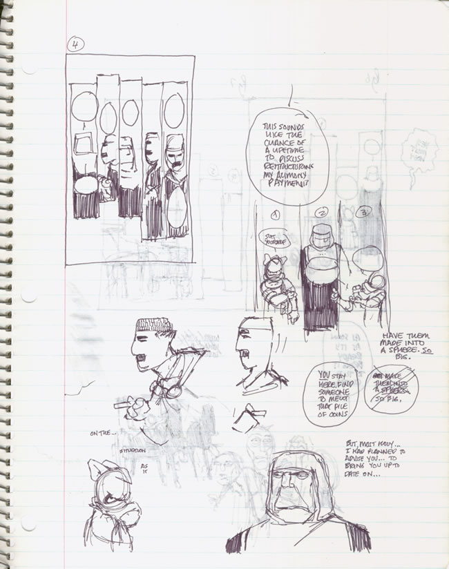 A MOMENT OF CEREBUS: Dave Sim's Notebooks: Lord Julius