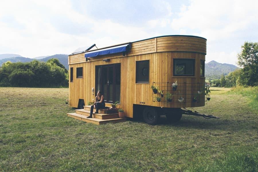 The Wohnwagon Tiny House TINY HOUSE TOWN