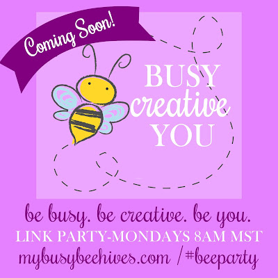 Weekly Link-Party at mybusybeehives.com, #BEEPARTY