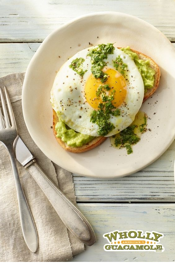 FISH RECIPES | Herb Avocado Toast With Fried Egg