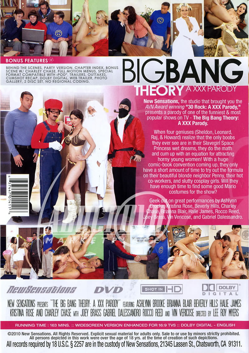 The big bang theory пародия xxx