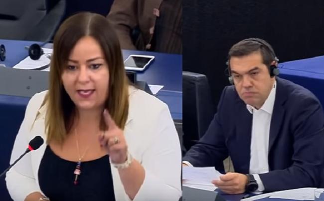 Ιταλίδα Ευρωβουλευτής τα χώνει άγρια στον Τσίπρα – Το απέκρυψαν τα Ελληνικά(?) κανάλια