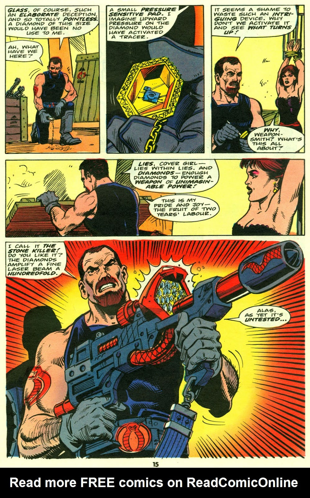 G.I. Joe European Missions issue 9 - Page 16