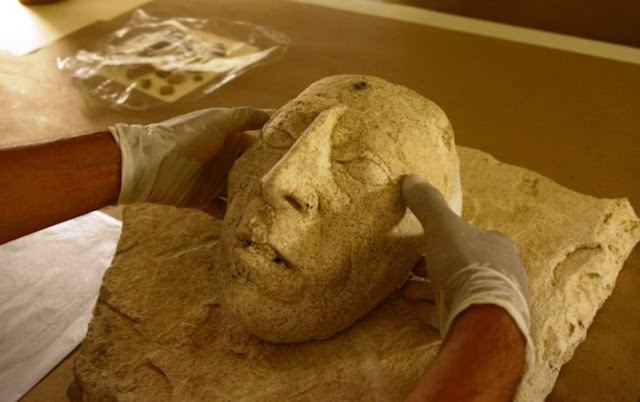 Ritual Mask of Legendary 7th century Maya King Pakal the Great has been unearthed in Mexico  Mask-of-Pakal_0