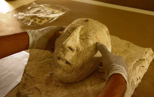 Ritual Mask of Legendary 7th century Maya King Pakal the Great has been unearthed in Mexico