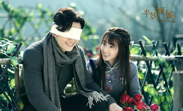 Zhang Zhe Han in 2016 Chinese fantasy drama Demon Girl