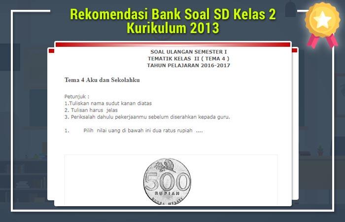 Bank Soal SD Kelas 2