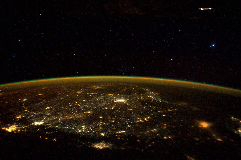 Photo by Scott Kelly from Space