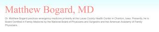 Dr. Matthew Bogard