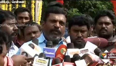 Thirumavalan's opinion on Vishal's nomination rejection | RKNagar Election | Vishal