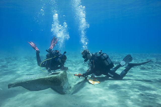 Archaeologist goes underwater to study ancient trade routes in Cyprus