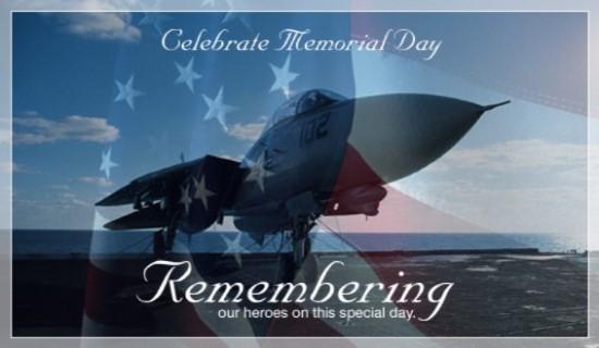 Free Memorial Day eCard 2017