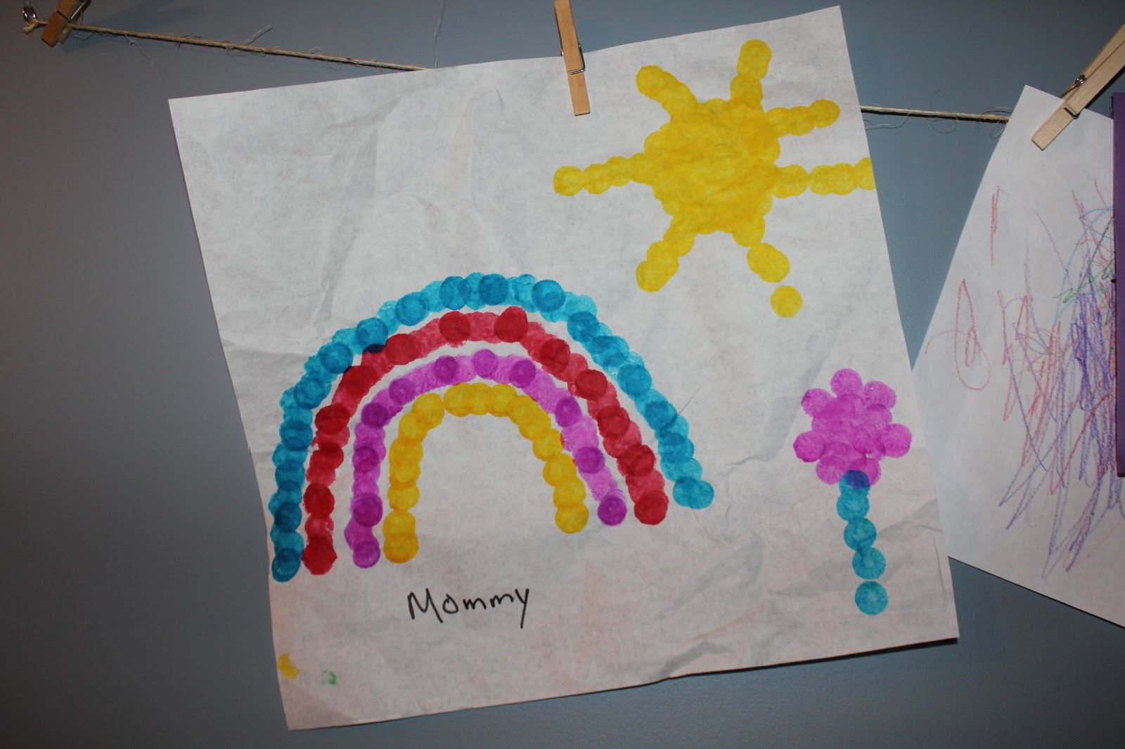 Crafts And Activities For Crazy Kids Dot Marker Rainbows
