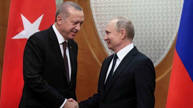 Rusia y Turquía acuerdan un alto el fuego en Idlib a partir de esta medianoche