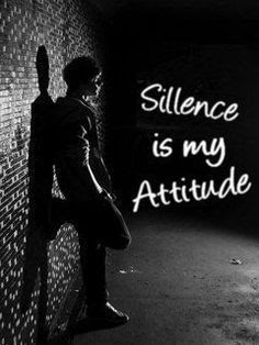 Sillence is my attitude Whatsapp dp profile picture and image download for dp