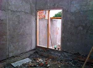dinding dilakukan sesudah pemasangan batubata rampung Perhitungan Kebutuhan Semen dan Pasir pada Plesteran