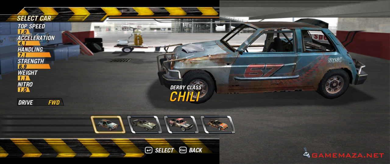 Flatout 2 (2006) pc review and full download   old pc gaming.