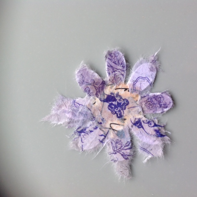 Welcome to lisabsigns rice paper flowers i then set about decoupaging the flowers with the little bits of rice paper using magi bond as my glue dont worry if bits of rice paper are overhanging mightylinksfo