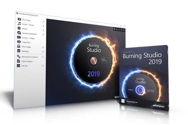 Ashampoo Burning Studio 2019 - Δωρεάν πρόγραμμα για εγγραφή CD, DVD και Blu-ray δίσκους