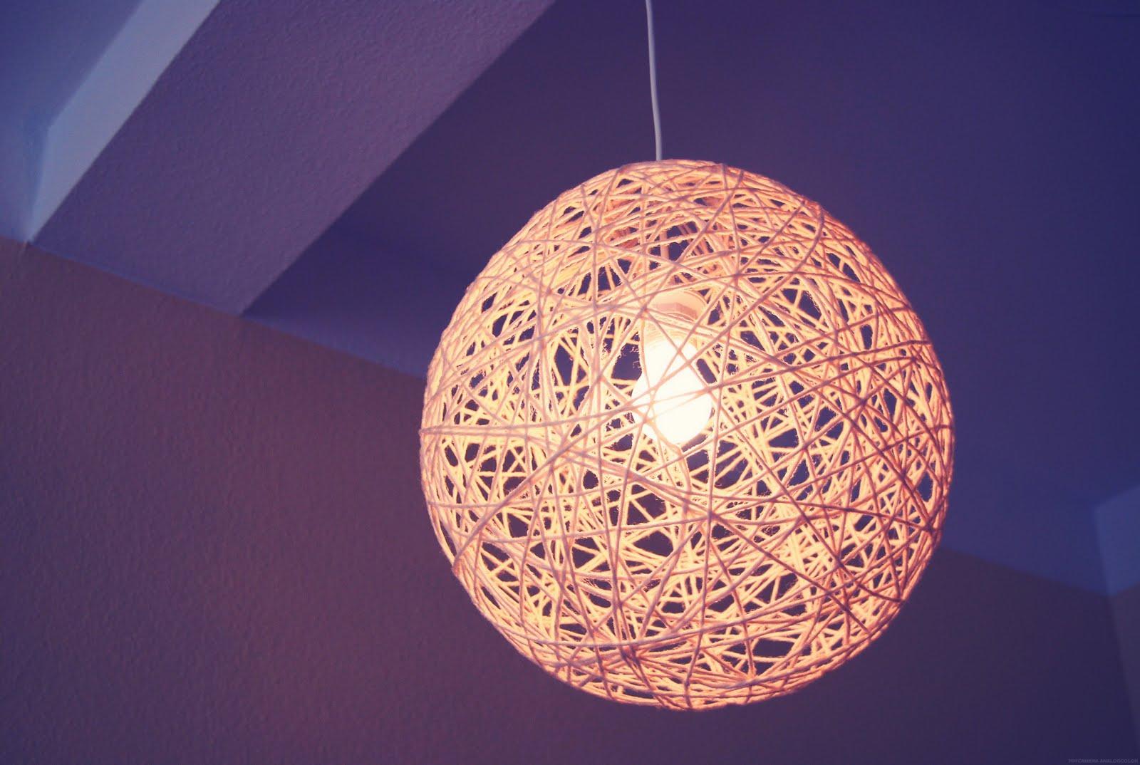 lampe wolle haken smash. Black Bedroom Furniture Sets. Home Design Ideas