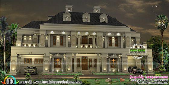 Palace like colonial home