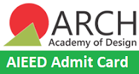 AIEED Admit Card