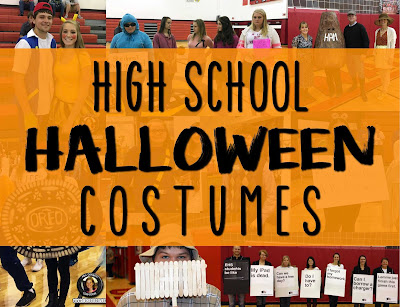 High School Halloween Costumes www.traceeorman.com