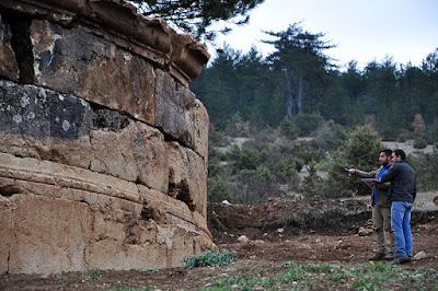 Τάφος 2.200 ετών αποκαλύφθηκε στην Παφλαγονία