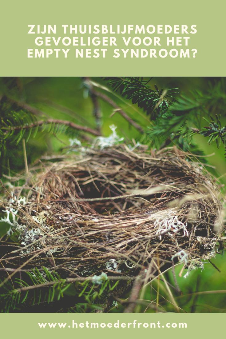 Thuisblijfmoeders en het empty nest syndroom