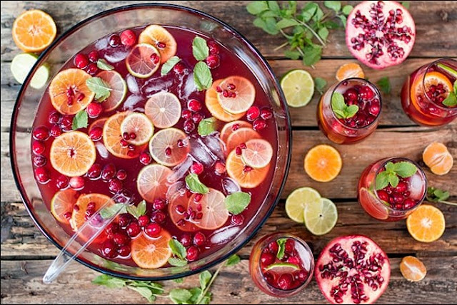 Christmas Day Punch #drink #christmas