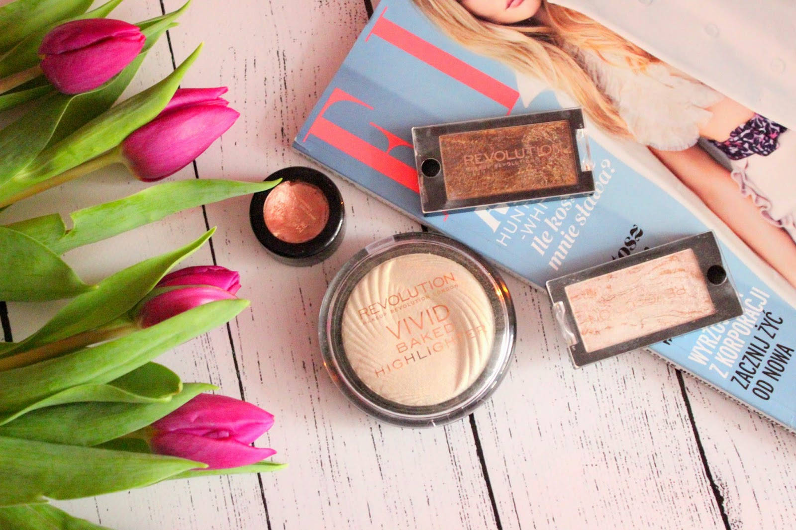 I Love Makeup Revolution - czyli jak umalować się za niewielkie pieniądze