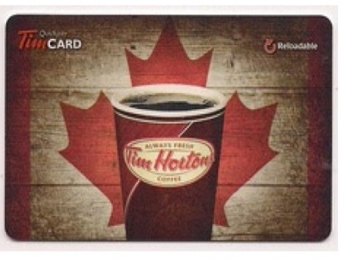 Thanksgiving Tim Hortons Gift Card Giveawy