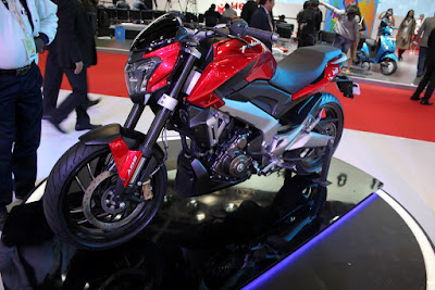 Bajaj Dominar 400 In Red Image
