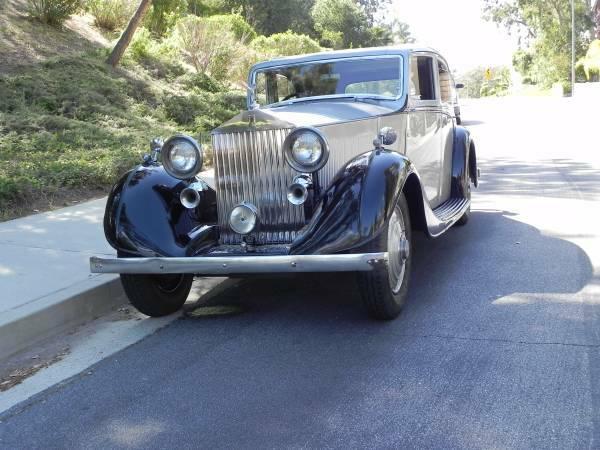 Original 1935 Rolls-Royce 20/25