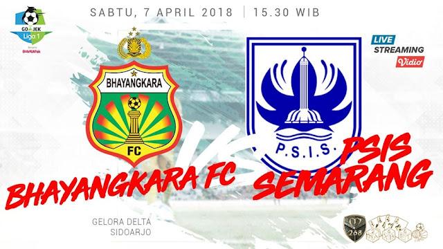 Prediksi Bhayangkara FC Vs PSIS Semarang, Sabtu 07 April 2018 Pukul 15.30 WIB