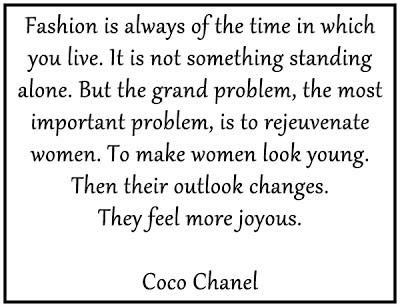 Fashion Quote Coco Chanel