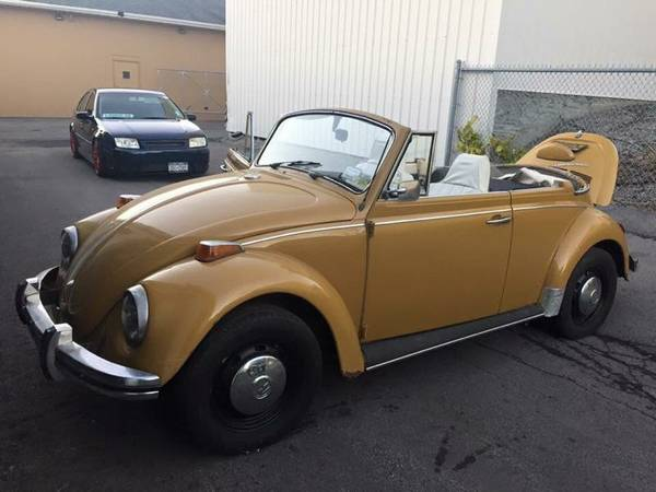 Nice 1970 VW Bug Convertible