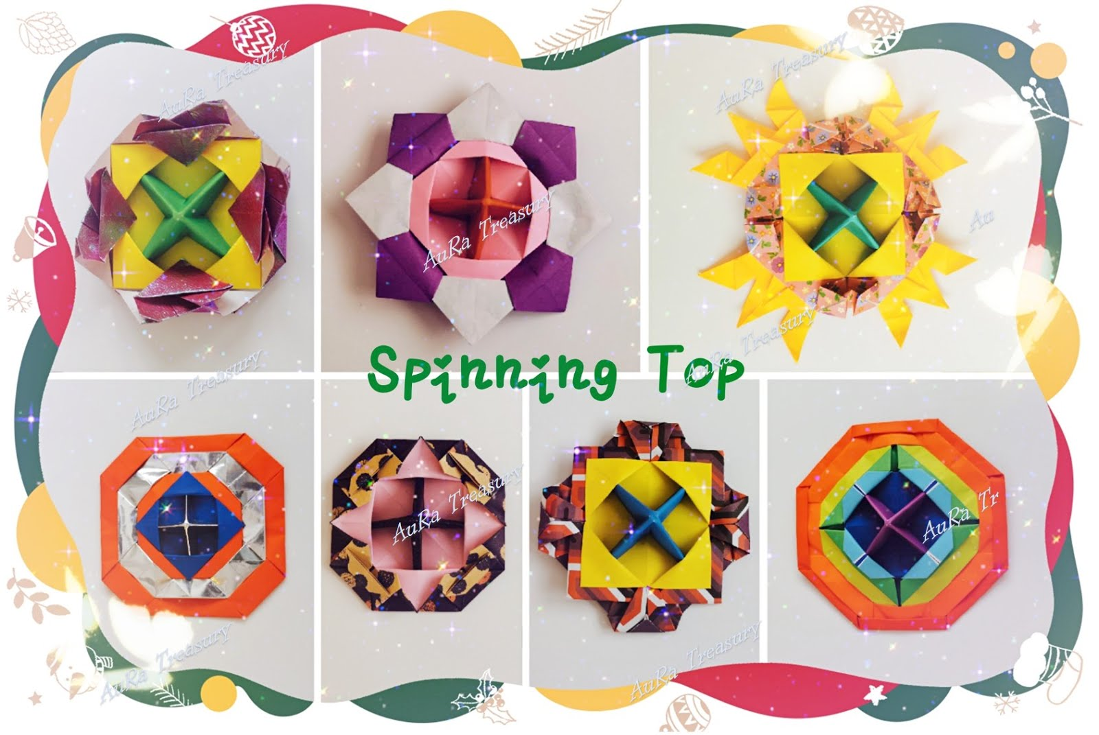 Tutorial: Origami Spinning Top