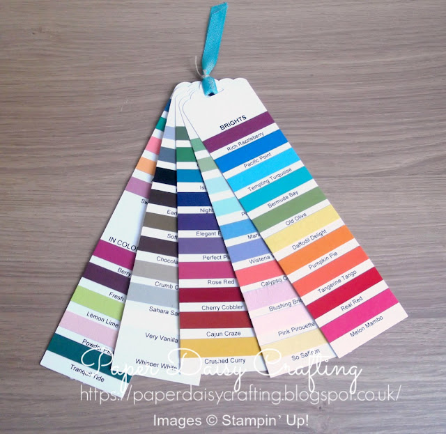 Stampin' Up! Colour Swatch available to buy £5.00