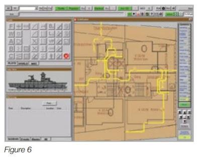 Экран с отображением сложных судовых систем