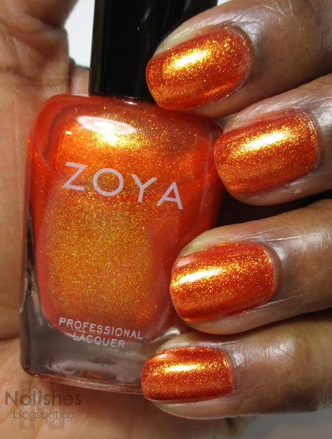 Swatch of Zoya 'Amy'