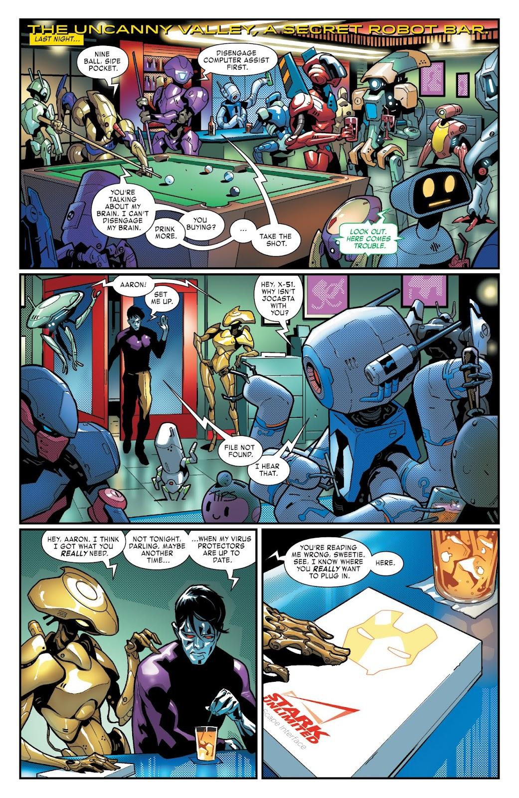 Read online Tony Stark: Iron Man comic -  Issue #3 - 13