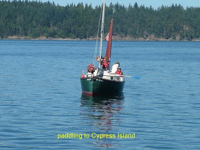 Cypress Island camping