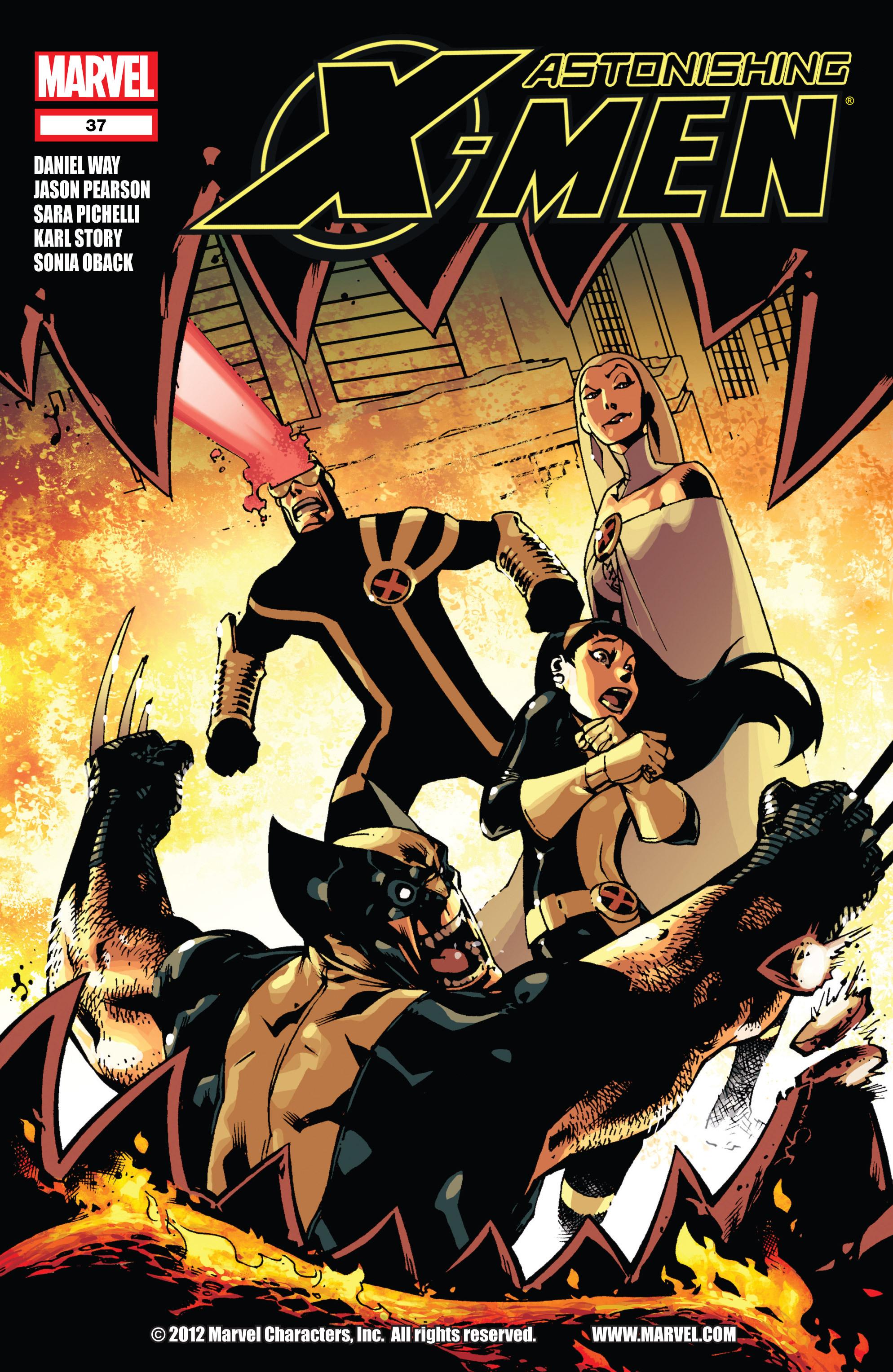 Read online Astonishing X-Men (2004) comic -  Issue #37 - 1