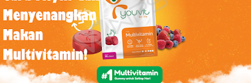 YOUVIT; Cara Asyik dan Menyenangkan Makan Multivitamin!