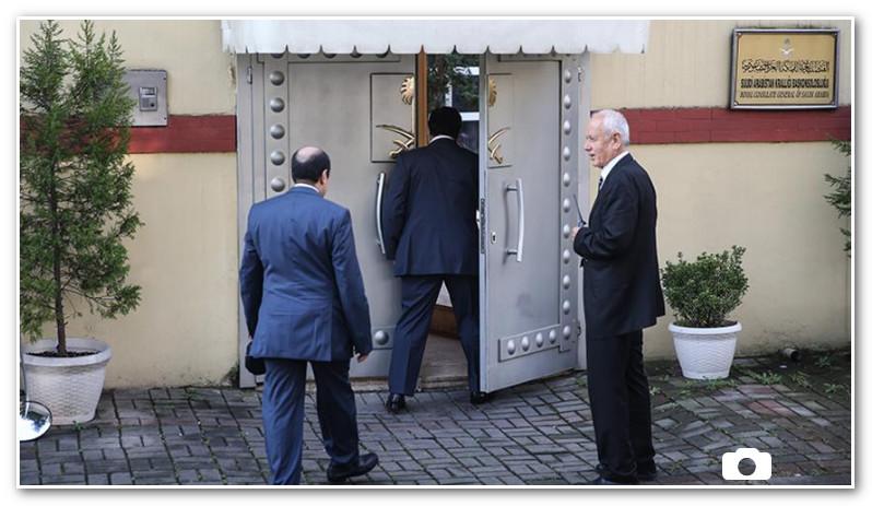 دخول وفد إلى القنصلية السعودية في إسطنبول
