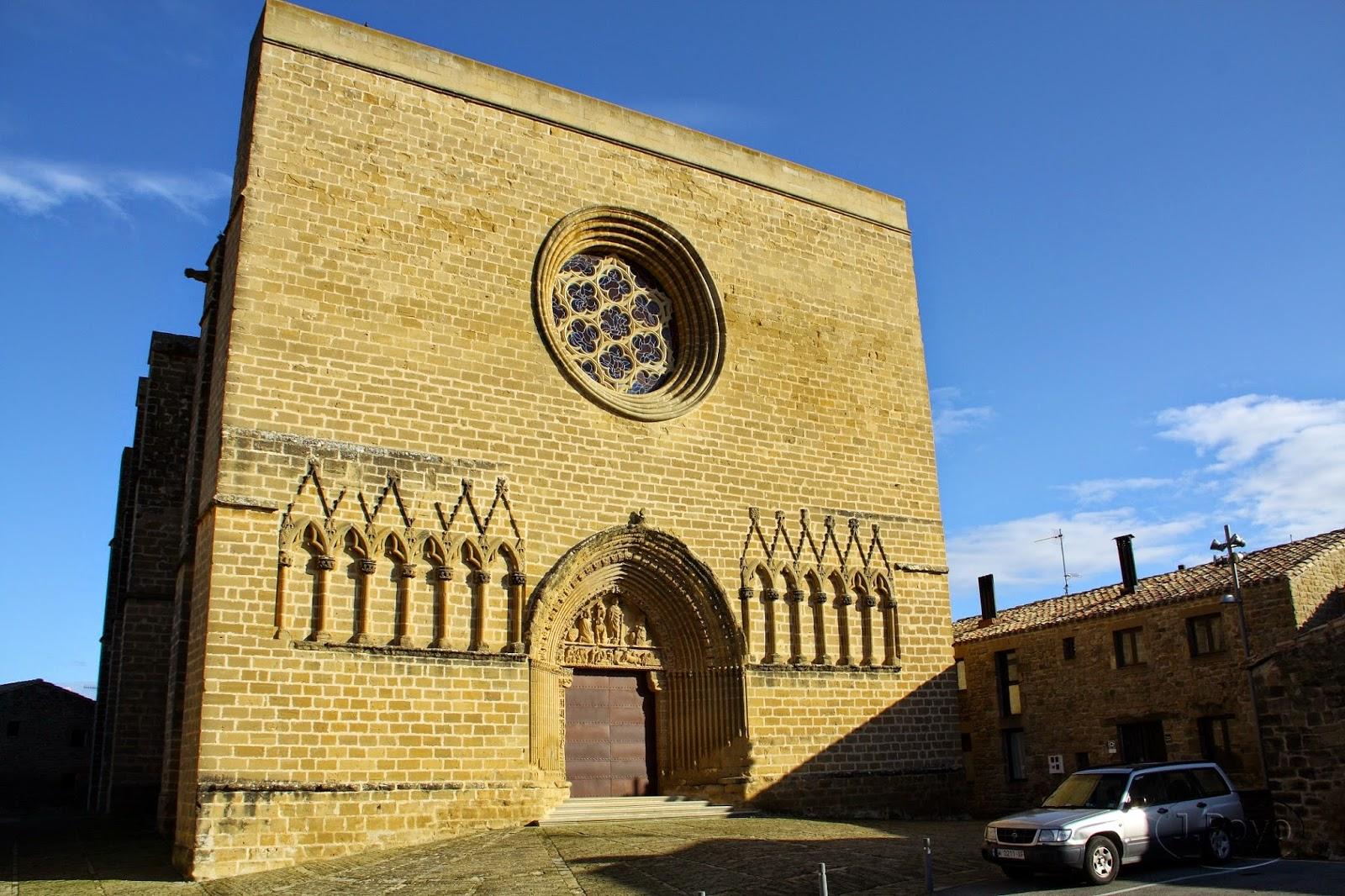 Iglesia-fortaleza de San Saturnino, Artajona